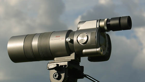 Ocean Wanderers reviews the innovative new spotting scope from Kowa ...